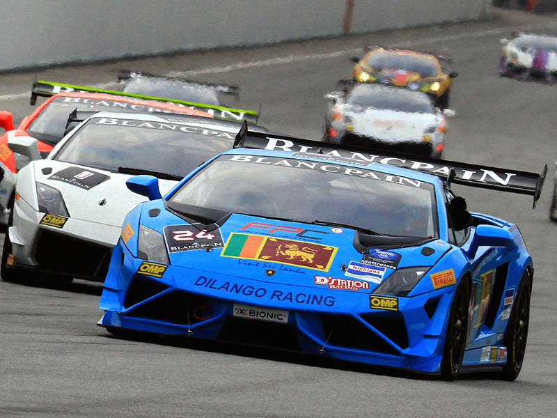 Lamborghini Blancpain Super Trofeo 2014 Asia Series