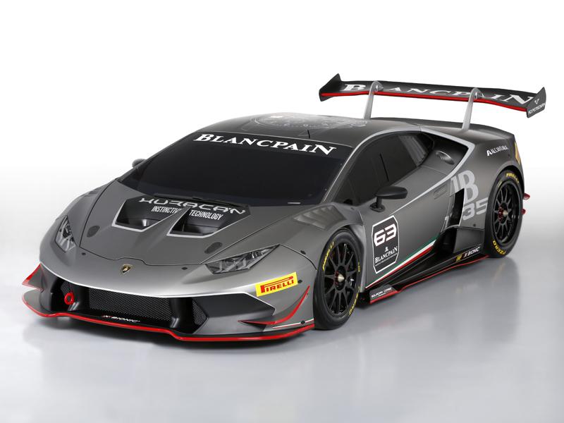 Huracán LP 620-2 Super Trofeo 3-4 Front