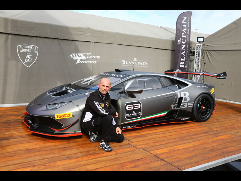 Giorgio Sanna named Head of Lamborghini Motorsport