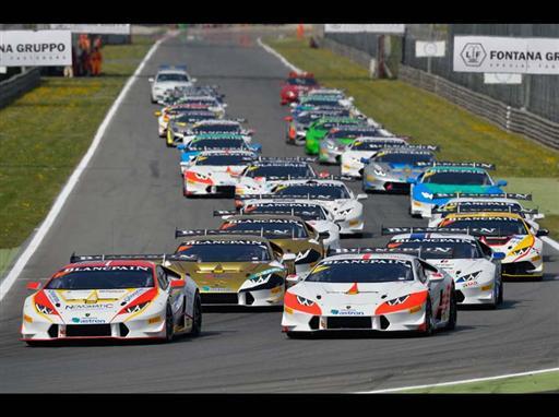 Monza Race 1 Start