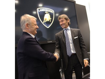 Automobili Lamborghini signs an agreement with the Ministry of the Environment and of Land and Sea Protection