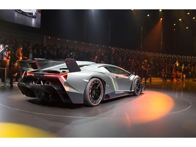 Lamborghini Launches Veneno - a Racing Prototype and Road-going Super Sports Car as a Tribute to the 50th Anniversary of Automobili Lamborghini