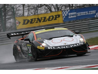 Blancpain Lamborghini GT3 Wins on Debut in the Hungary 12hrs