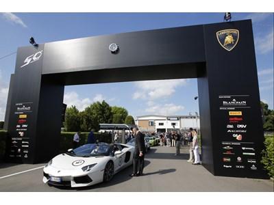 Lamborghini 50th Anniversary Grand Tour, Day 5- New Video Available