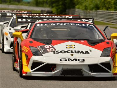The Lamborghini Blancpain Super Trofeo Series Roars into action at Lime Rock