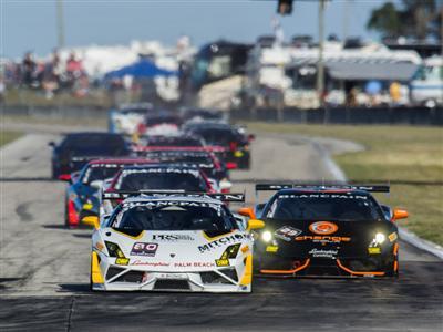 Lamborghini Blancpain Super Trofeo 2016 Race Calendars - North America