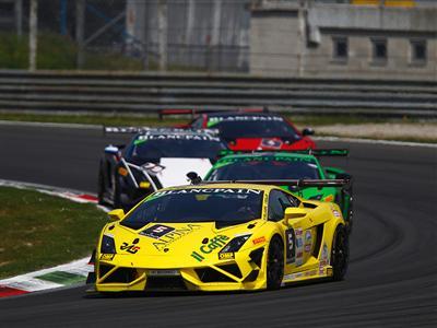 Andrea Palma wins in Race One at Monza opener for Lamborghini Blancpain Super Trofeo Europe