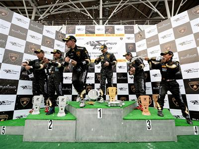 Lamborghini Roars into Sepang for an Unforgettable Kick-Off to the 2014 Lamborghini Blancpain Super Trofeo Asia Series