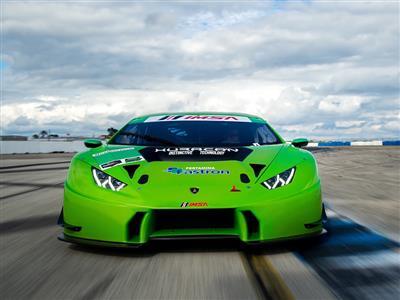 Sei Lamborghini Huracán GTD al via della 64esima edizione della 12 ore di Sebring
