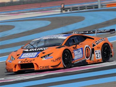 First victory for Lamborghini in the International GT Open