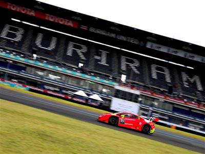 Thai Thrills At Buriram International Circuit With Another First For Lamborghini Blancpain Super Tro