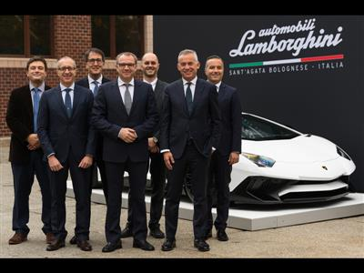 Automobili Lamborghini and the Massachusetts Institute of Technology join forces to write the future