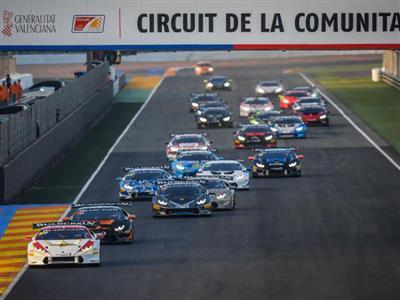 Michimi, Duerson, Hindman, Ockey, Chouest Celebrate Lamborghini Blancpain Super Trofeo North America Titles at Valencia