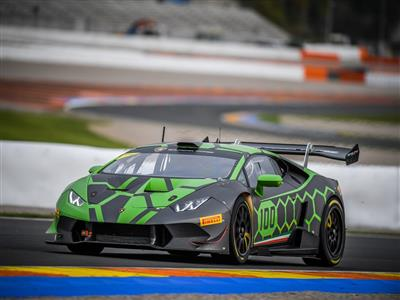 The first edition of the  Lamborghini Super Trofeo Middle East will start from Abu Dhabi on February 9-11