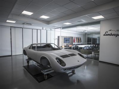Lamborghini Polo Storico – offizielle Eröffnung  des neuen Classic Centers in Sant'Agata Bolognese