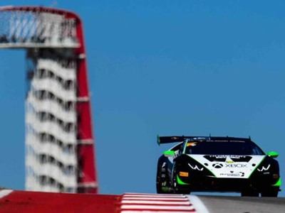 Antinucci Delivers Second Win in Opening Lamborghini Super Trofeo North America Weekend at Circuit o