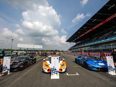 Lamborghini's Thrilling Thai Super Trofeo Race One Gets Underway At Chang International Circuit In Buriram