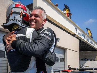 Postiglione and Cecotto take their third victory in a row  in the Lamborghini Super Trofeo Europe at