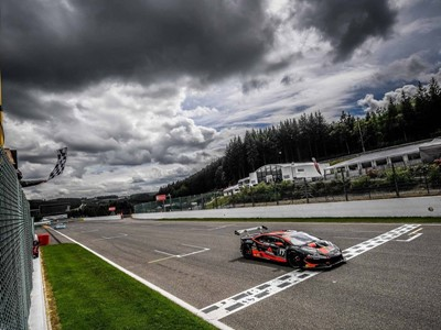 Grenier and Spinelli score their second victory in a row and the third of the season in the Lamborghini Super Trofeo Europe