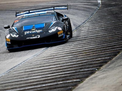 Hindman and Agostini deliver third consecutive Lamborghini Super Trofeo Win in Race 2 at Road America