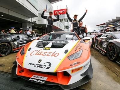 Doppietta di Cozzolino e Yazid nel Lamborghini Super Trofeo Asia