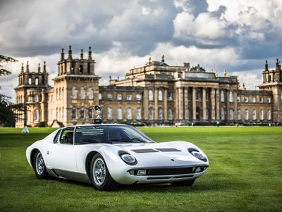 Dallara's Polo Storico-restored Miura wins at UK's Salon Privé