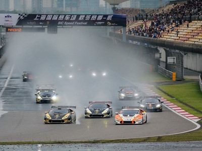 Cozzolino and Yazid secured the title in the Lamborghini Super Trofeo Asia