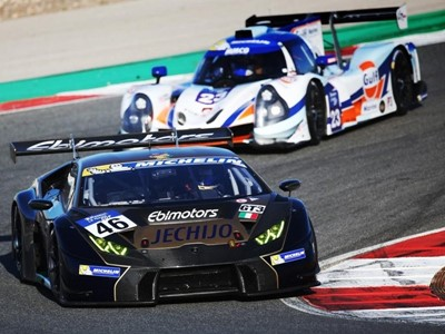 The Lamborghini Huracán GT3 wins the Michelin GT3 Le Mans Cup