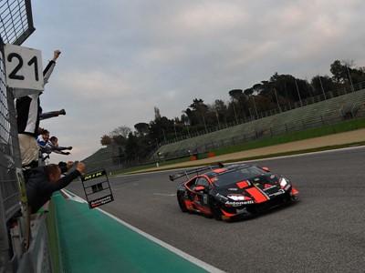 Imola laurea tutti i campioni continentali del Lamborghini Super Trofeo