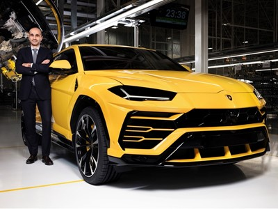 Ranieri Niccoli : Chief Manufacturing Officer at Automobili Lamborghini S.p.A.
