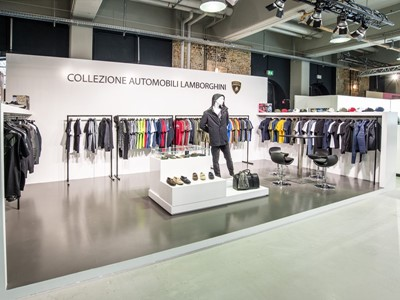 Collezione Automobili Lamborghini è stata presente al Premium International Fashion Trade Show di Berlino