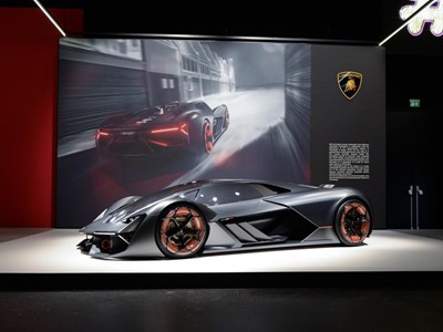 Lamborghini Terzo Millennio at the Geneva Motorshow 2018