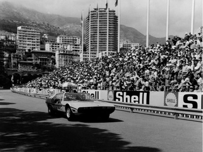 Lamborghini Polo Storico ricrea la storia,  e riporta la Marzal al GP de Monaco Historique