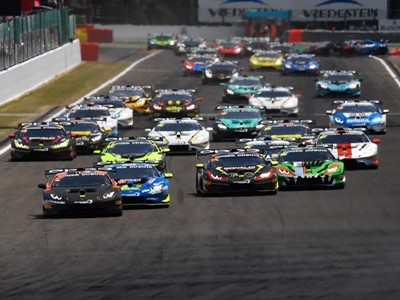 First win for Pull and Snoeks in Lamborghini Super Trofeo Europe at Spa