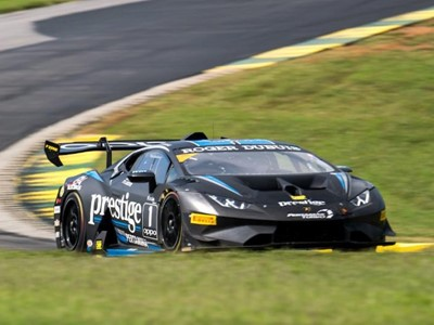 Podiums Have A Little Different Look in Round 8 of  Lamborghini Super Trofeo North America