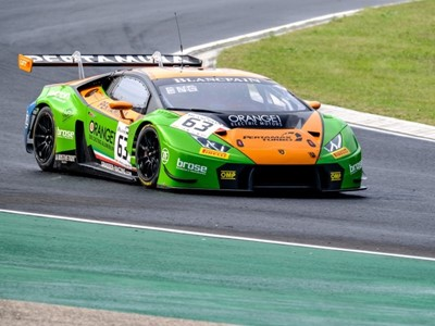Victorious weekend for Lamborghini in Blancpain GT Series and GT Open