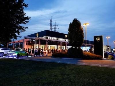 Nuova concessionaria Lamborghini a Bologna  e presentazione nazionale dell'Aventador SVJ