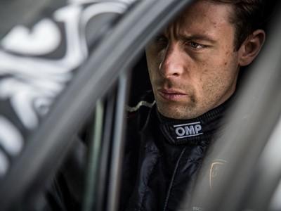 The 2019 Factory Drivers of Lamborghini Squadra Corse