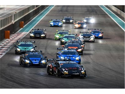 Lamborghini Super Trofeo Middle East Abu Dhabi