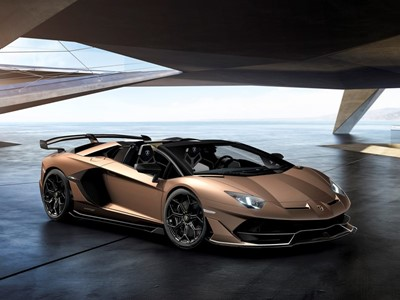 Automobili Lamborghini launches the Aventador SVJ Roadster  at Geneva Motor Show 2019: exclusive ope