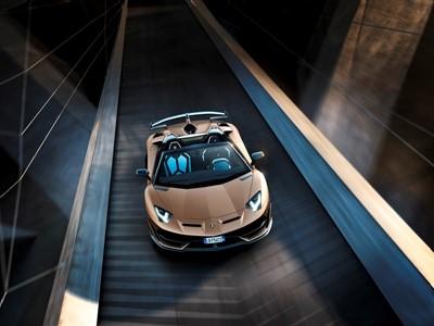 Aventador SVJ Roadster Ambient