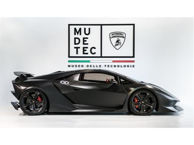 The new and updated Lamborghini Museum: MUDETEC, the Museum of Technology