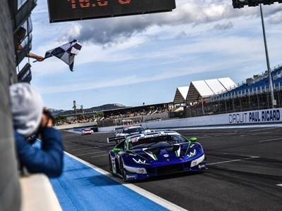 Doppietta Lamborghini con Emil Frey Racing nel primo round del GT Open