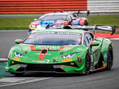 Lamborghini Super Trofeo Europe - Imperious Imperiale take dominant one-two  in Silverstone Race 2
