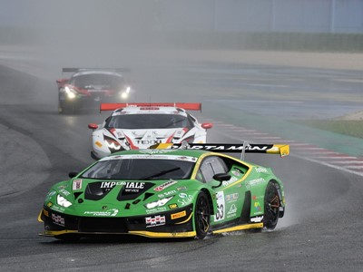 Triumphant Weekend for Lamborghini in British and Italian GT