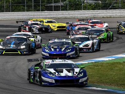 GT Open: Lamborghini secures a one-two and the Championship lead at Hockenheim