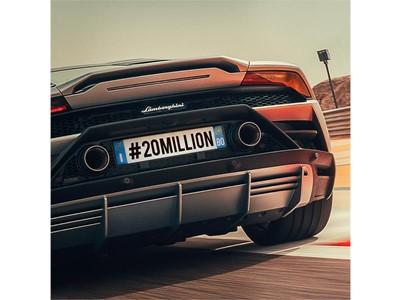 Automobili Lamborghini hits 20 million followers on Instagram