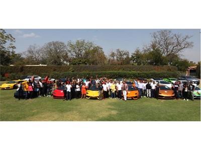 Lamborghini celebrates India leadership with Lamborghini Day