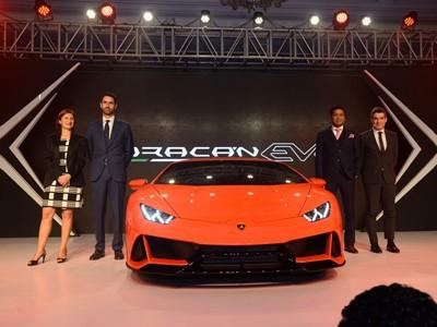 Lamborghini launches the New Lamborghini Huracán EVO in India