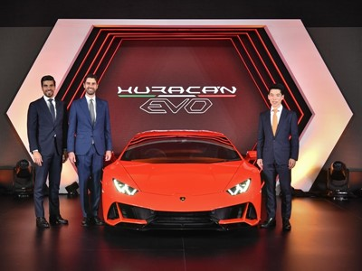 The new Lamborghini Huracán EVO launch in Thailand
